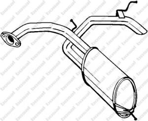 Endschalldämpfer für Abgasanlage BOSAL 278-585