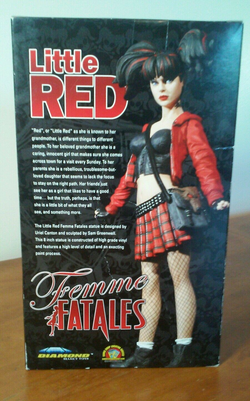 Damenschuhe Damenschuhe Damenschuhe Fatales Little ROT Vinyl Statue Figurine Doll Little ROT Riding Hood NIB 4ad9f5