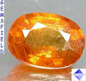 TRANSPARENT-1-27ct-SAPHIR-de-SRI-LANKA-lumineux-ambre-dore-poli-AAA
