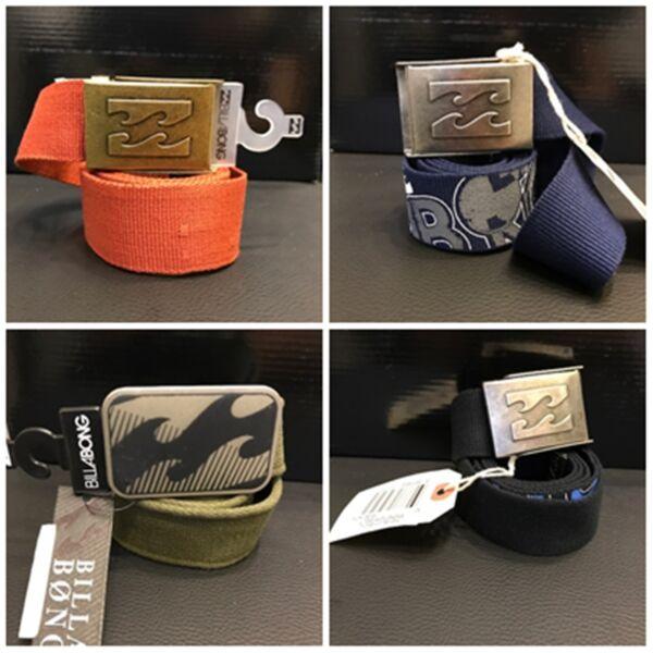 Billabong Cintura Cinta Belt Cinctura Waistband Pantaloni Pants Cinture Cinte 7 Sangue Nutriente E Regolazione Dello Spirito