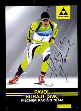 Pavol Hurajt Autogrammkarte Original Signiert Biathlon +A 160587