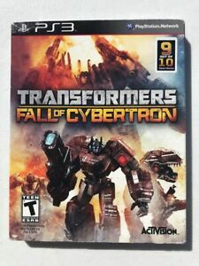 TRANSFORMERS-FALL-OF-CYBERTRON-Sony-PlayStation-3-PS3-New-Sealed