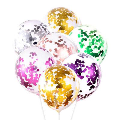 10pc 12/'/' Confetti Birthday Balloons Helium Latex Balloon Wedding Party Decor