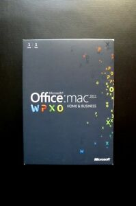 Details about Microsoft Office for Mac 2011 Home and Business Word  Outlook   (DOWNLOAD or DVD)