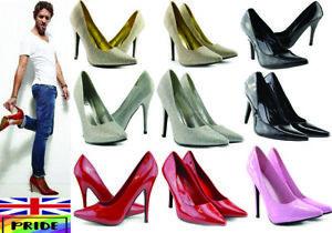 Women-Mens-Drag-Queen-Crossdresser-High-Heel-Platform-Court-Shoe-Large-Size-9-12