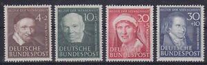 Bund-Mi-143-146-Hoechstwert-TOP-geprueft-Schlegel-BPP-1951-postfrisch-MNH