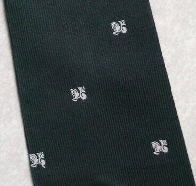 Bello Vintage Cravatta Da Uomo Cravatta Crested Club Associazione Società Verde- Bello E Affascinante
