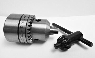 "Rohm Quality Key-Type Drill Chuck Prima S 13S Mount 1//2/""-20 Cap 1//32/"" 3//8/"""