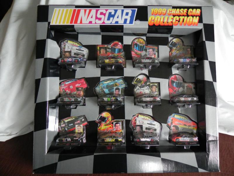Racing Champions 1999 Chase Coche Colección en Caja Set 12