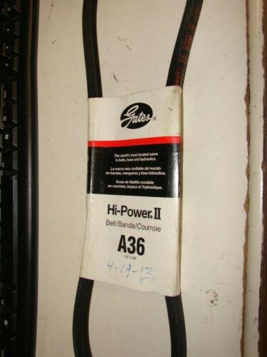 Gates A36 Hi-Power II V-Belt New