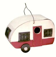 Birdhouse Mother In Law Suite Trailer Mobile Home Camper For Your Birds.