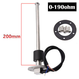 200mm-Boat-Marine-Water-Fuel-Level-Sender-Car-Truck-Fuel-Gauge-Sensor-0-190ohms