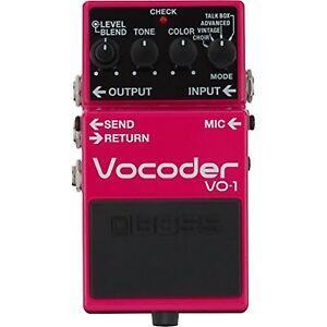 Boss Vo-1 Vocodeur Guitare Effector Avec Suivi # Neuf De Japon Pour Convenir à La Commodité Des Gens