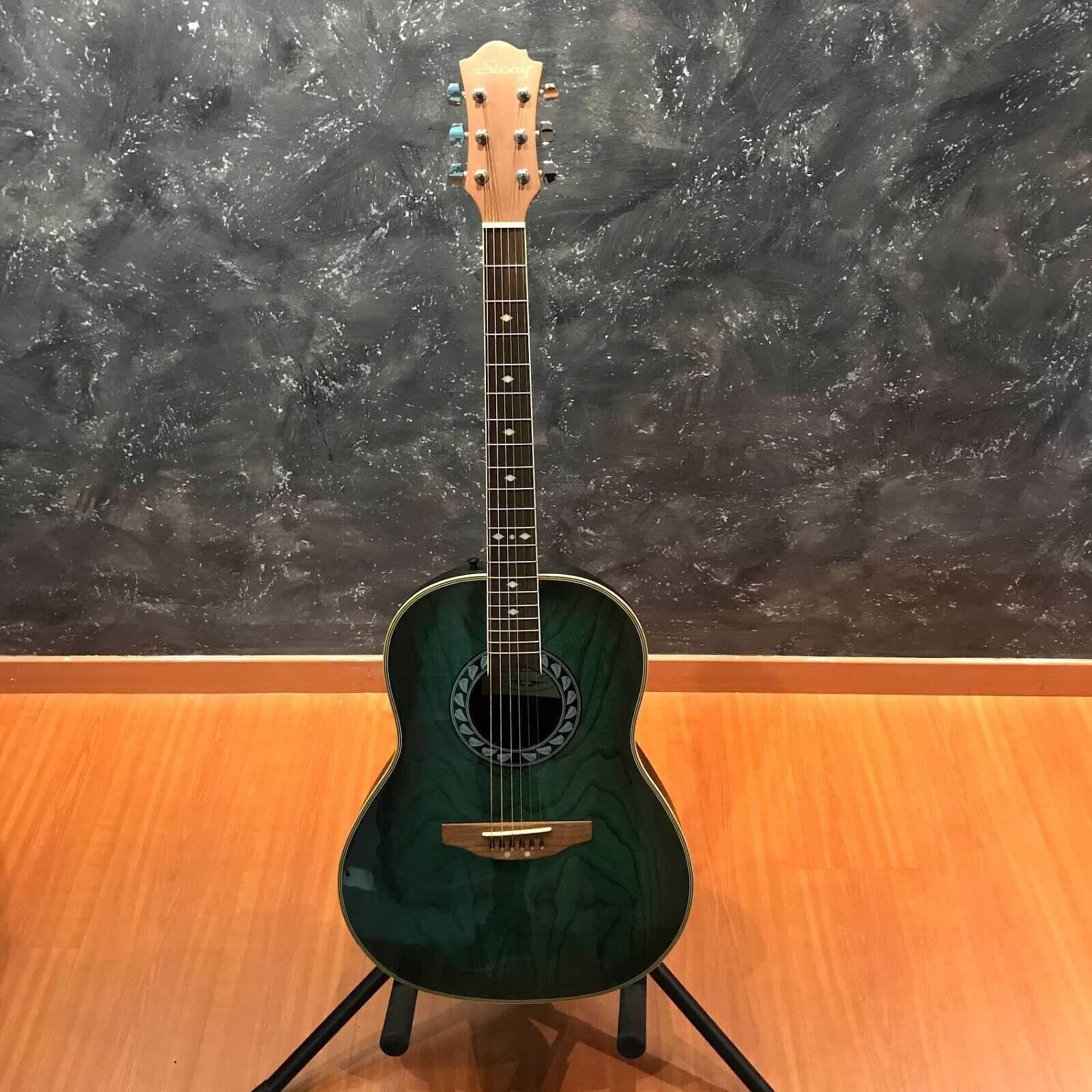 Stony HRB50 Grün Acoustic Guitar