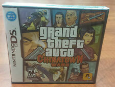 Grand Theft Auto Chinatown Wars (Nintendo DS 3DS DSI) Brand New Factory Sealed