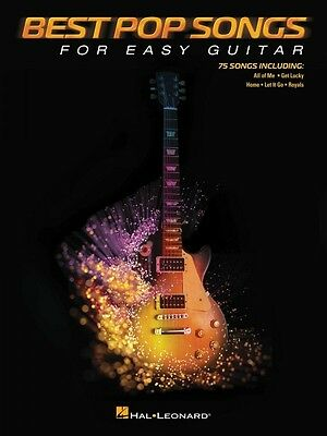 Best Pop Songs for Easy Guitar Sheet Music No Tab Easy Guitar Book NEW 000137700