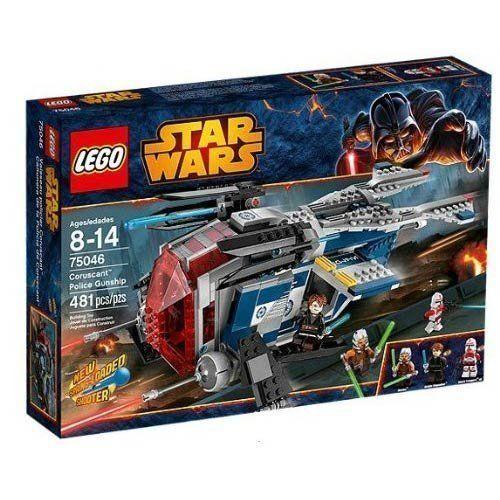 Lego estrella guerras 75046  Coruscant polizia Gunship (481 PCS) nuovo SEALED  ottima selezione e consegna rapida