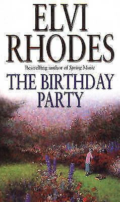 The Birthday Party, Rhodes, Elvi, Excellent Book