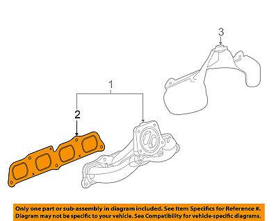 GM OEM Exhaust-Manifold Gasket 12657167