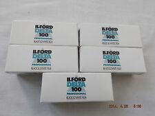 Ilford Delta 100 Pro 120 Film (5 Pack) *CHEAPEST*