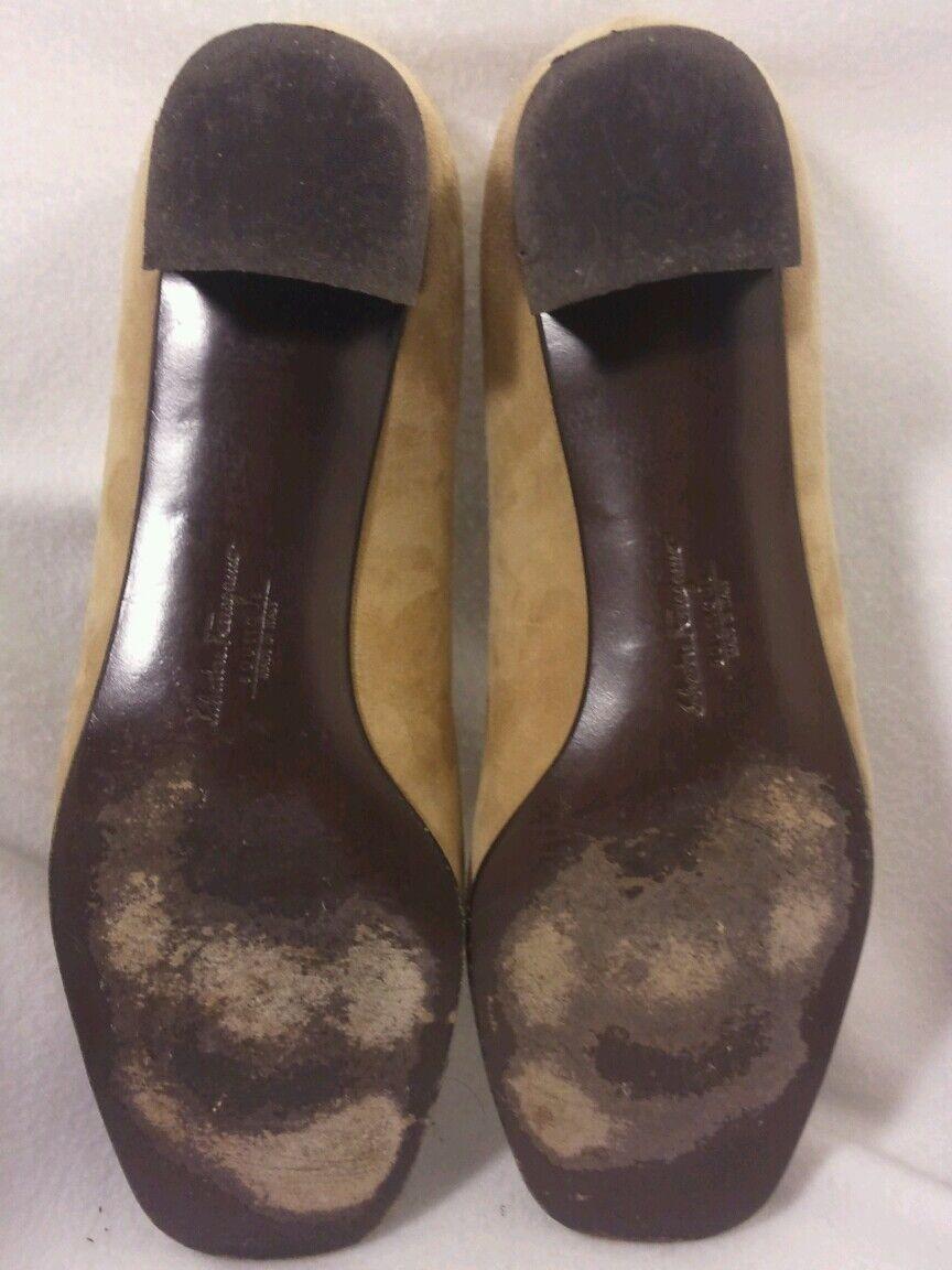 Damenschuhe Salvatore Ferragamo Boutique Boutique Ferragamo Made in  Mary Jane Slip On Heels SZ 7.5 dcbefd