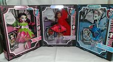 Monster High Doll Scarily Ever After Scary Tales Clawdeen, Draculaura, Frankie