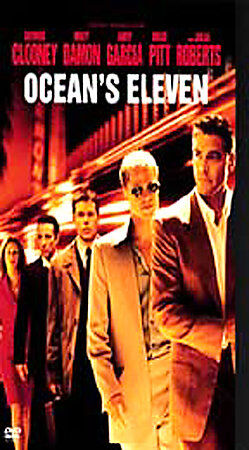 Oceans Eleven DVD, 2002, Widescreen  - $0.99