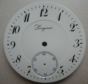 VINTAGE-LONGINES-CHRONOGRAPH-POCKET-WATCH-PORCELAIN-DIAL-dia-42-41-mm-NOS
