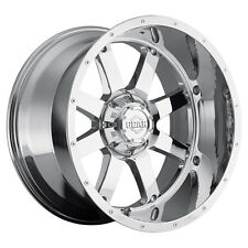 4-NEW Gear Alloy 726C Big Block 20x12 8x170 -44mm Chrome Wheels Rims