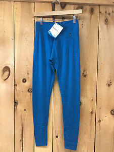 Smartwool Women's NTS Mid 250 Bottom Baselayer - Blue Heather - New - Free Ship