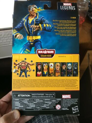 """Marvel Legends 6/"""" Age of Apocalypse Nate Grey X-MAN SEALED Sugar Man BAF Scellé"""