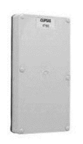 Clipsal INDUSTRIAL MOUNTING ENCLOSURE LID 28mm Deep Grey *Aust Brand 2-Gang