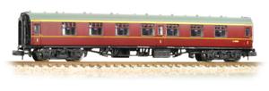 Graham-Farish-374-161A-BR-MK1-FK-First-Corridor-Coach-Maroon-N-Gauge