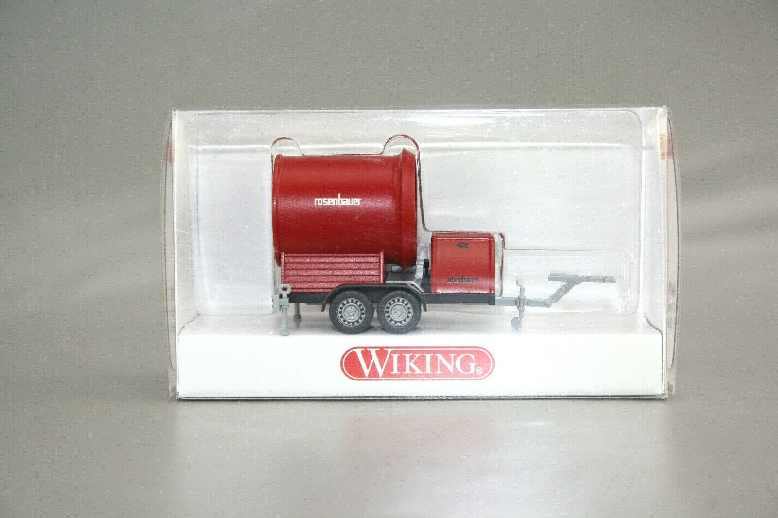 Wiking 1:87 600 08 Tunnel Ventilateur roses BAUER neuf dans sa boîte