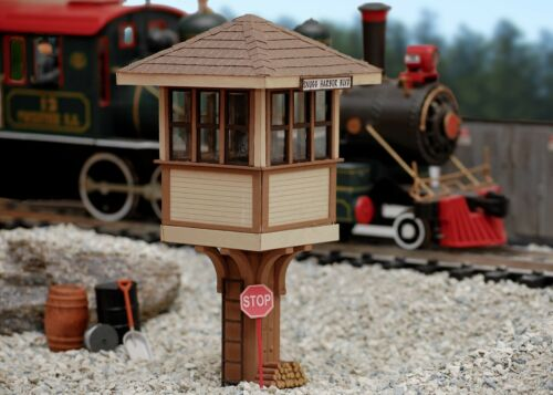 PLANS ONLY - Watchman's Tower G Scale (1:24) Building Plans Model Railroad