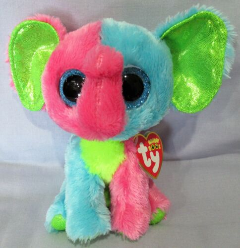 ELFIE the Elephant - Ty 6  Beanie Boos  NEW with MINT TAGS - Justice Exclusive