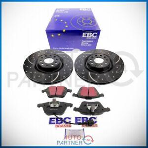 EBC-for-VW-Golf-6-R32-Scirocco-R-Brake-Discs-Blackstuff-Pads-Front-Axle