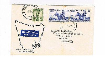 Australien Schöner Lp Bief Ab Taroona/tasmanien Gelaufen 7.12.1949 Geeignet FüR MäNner Und Frauen Aller Altersgruppen In Allen Jahreszeiten Diverse Philatelie