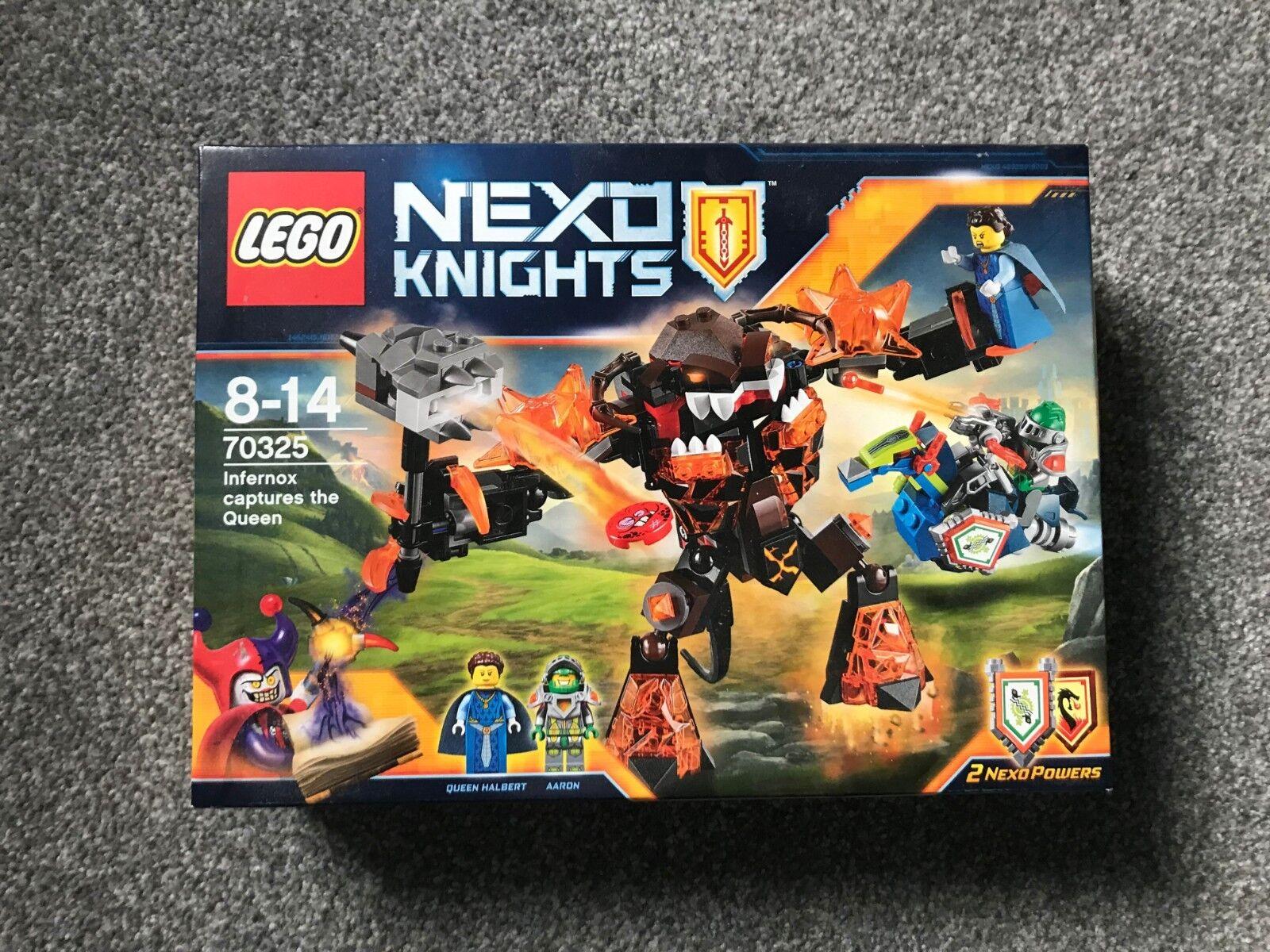 LEGO Nexo Knights 70325 Infernox Captures The Queen - Brand New