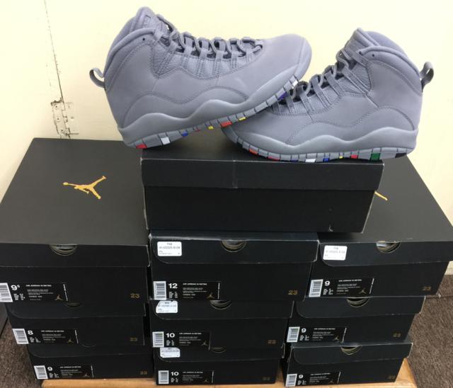 44e62a16b3ec DS 2018 Nike Air Jordan 10 X Retro Cool Grey Suede NRG 310805-022 ...