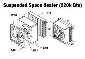 Central-Boiler-COMPLETE-Suspended-Hanging-Space-Heater-220-Btu