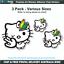 Hello-Kitty-JDM-Drift-Shocker-vinyl-decal-car-hoon-bumper-sticker-JDM003