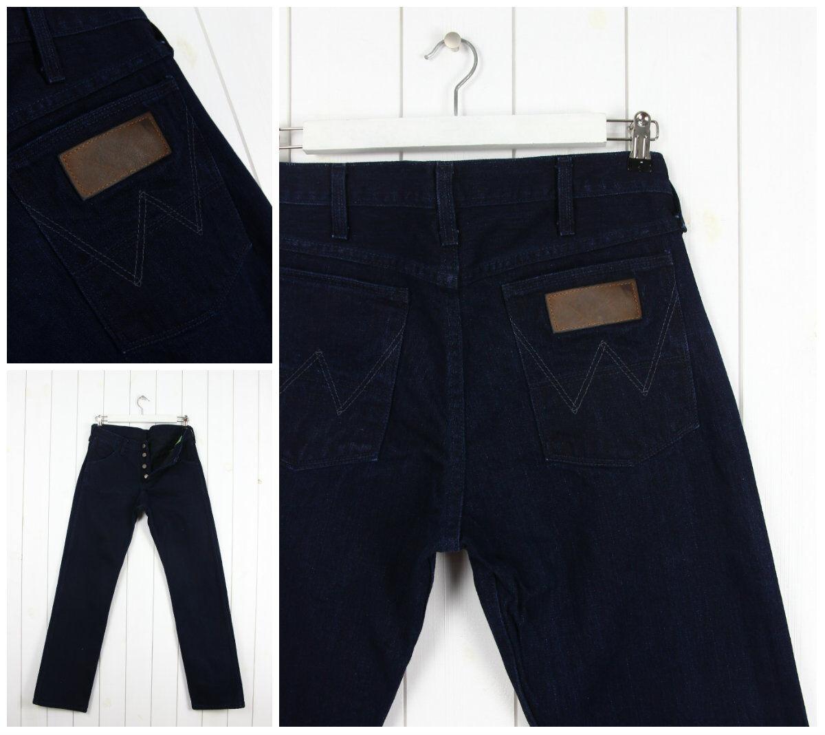 NEU Wrangler Blau Glocke 11MW 1956' Vintage blau regular gerade Jeans W32 L34