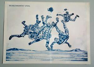 Sky-Diving-Poster-F-T-Ely-1972-Imprimer
