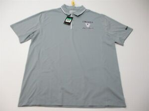 new-NIKE-GOLF-Polo-Shirt-Men-039-s-Size-XL-Active-DRI-FIT-TOUR-PERFORMANCE-Gray