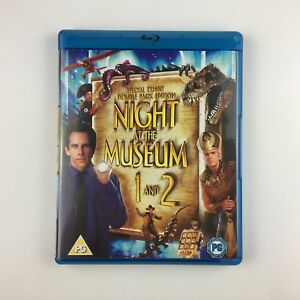 Night-At-The-Museum-1-amp-2-Blu-ray-2009-2-Disc-Set