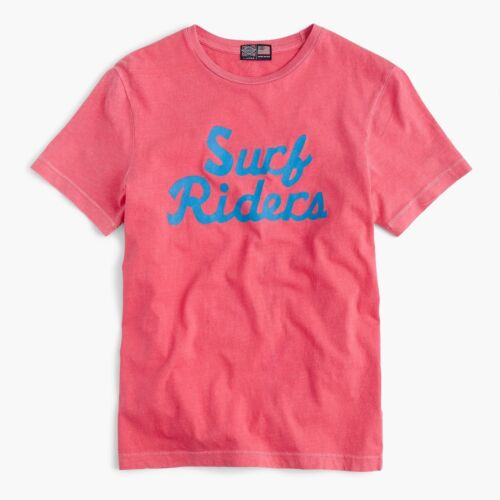 Crew Surf Riders Men/'s Baseball T-Shirt USA NEW L Ebbets Field Flannels for J