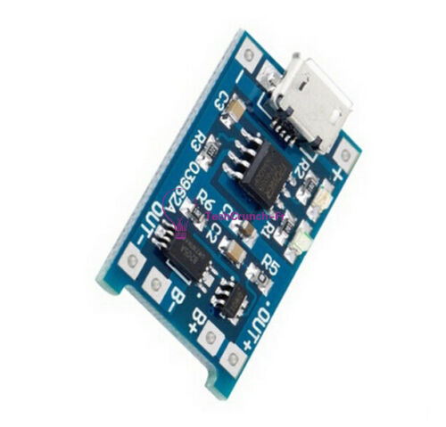 2pc 5V Micro USB 1A 18650 Lithium Battery Charger Board Module TP4056 TE420