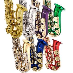 Mendini-Eb-Alto-Saxophone-Sax-Gold-Silver-Blue-Green-Purple-Red-Care-Kit