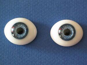 PROMO-yeux-bleu-20mm-en-verre-Jumeau-poupee-ancienne-moderne-doll-glass-eyes